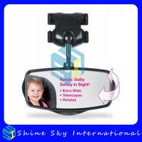 4 pcs/lot reverse baby viewer children viewer mirror automobile baby safety rear view mirror car interior mirror free shipping