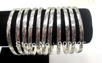 Anti Silver Plated DIY Bangle for Multi Layers Bangle, Fashion Bracelets Bangle, 2013 Vintage Jewelry, Wholesale 5 Pieces/LOT