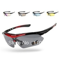 Free Soldier Outdoor Sports Sunglasses with exchangeable 5 Lenses