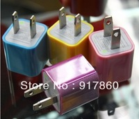 Colorful Universal USB AC EU Power Charger Adapter for Mobile Phone MP3 MP3 Camera