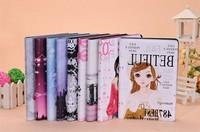 Newest 7.9 Leather Case For iPad Mini Korean girl Stand Leather Case For ipad For iPad Mini Free Shipping