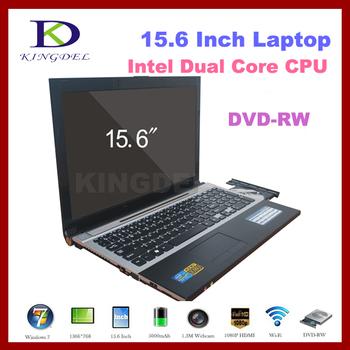 "KINGDEL15.6"" Notebook, Laptop with Intel Atom D2500 Dual Core1.86Ghz, 4GB RAM, 500GB HDD, DVD-RW, WIFI, Bluetooth, 1080P HDMI"
