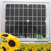 Free Shipping--10W 9V China direct factory MONO Solar PV Panel for 6V battery, solar power kits, home use. in stock