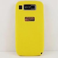 New Design Multiple Color Mesh Net Hard Rubber Case Coating Skin FOR NOKIA E72