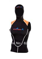Split twinset vest submersible service surf clothing thermal vest snorkel sailable shorts