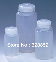 Plastic Bottle Lab Reagent  Bottle  PP Storage Wide Mouth Bottles  RoHs  FDA  REACH Approved  Autoclavable 1000ml (125g)  Pack 6
