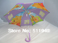 1 piece  Winnie cartoon kids umbrella
