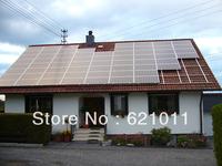 4kw home solar energy system,on-off grid mode, solar system includes solar modules and on-off grid inverter