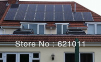 3kw home solar system, on-off grid solar system includes solar panel modules and on-off grid inverter