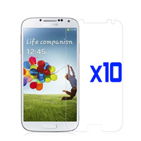 10x Clear Lcd Screen Protector Film for Samsung Galaxy S4 SIV I9500