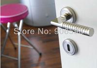 6pairs free shipping Modern zamak noble door handle/zamak handle/lever door handle/zinc alloy handle