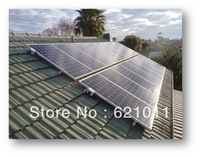 2kw home solar power system, on-off grid solar system includes solar panel and on-off grid inverter to supply home solar power