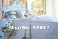 Free Shipping 60S 100% Cotton 4PCS King Queen Bedding Set  Duvet Cover Set Bed Sheet Set Bed Linen
