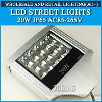 20W LED Street Lights IP65 Epistar Warm white/cold white AC85-265V Free shipping