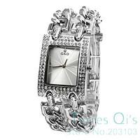 New Casual Bracelet Watch Quartz Big Starp Crystal Men Women Unisex Wathces Wristwatch Free Ship