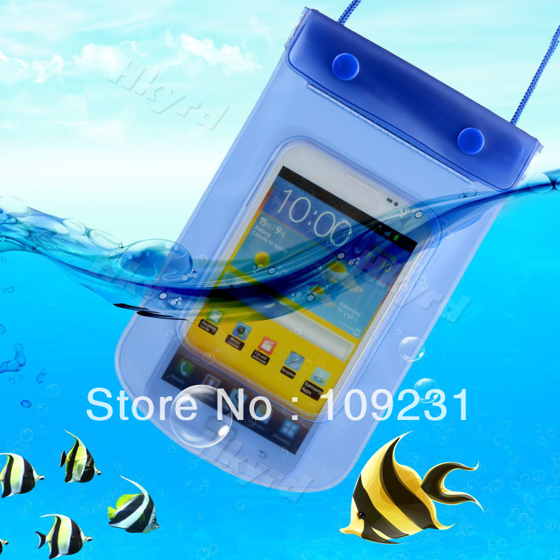 Hot Waterproof Bag Underwater Pouch Dry Case For Mobile Cell Phone Samsung i9220 L0206