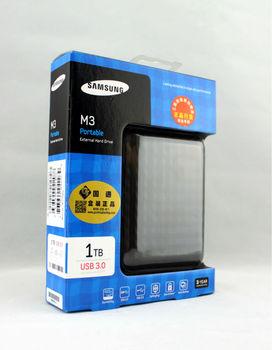 Frete grátis HOT New Samsung M3 1TB Preto Disco rígido externo portátil HDD USB 3.0 & 2.0 STSHX-M101TCB