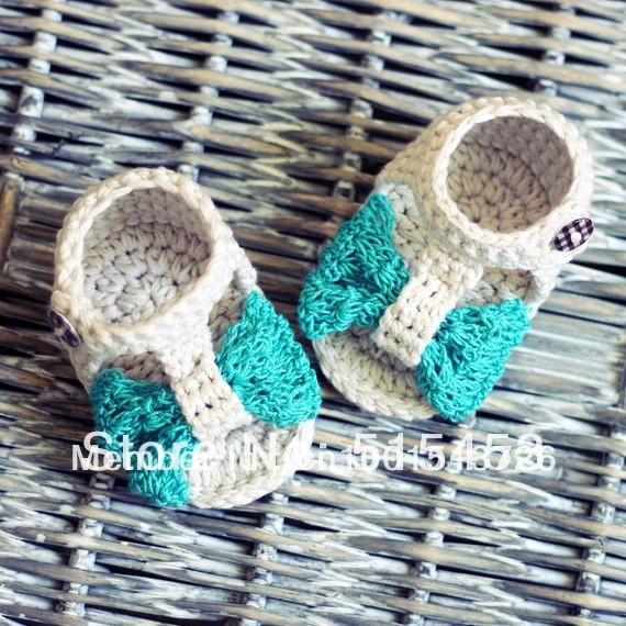 Esquemas gratis para hacer sandalias en crochet - Imagui