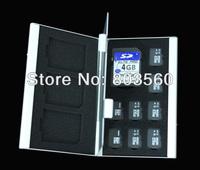 12 slot TF Micro SD SDHC SDXC Card Protecter Box Storage Case Hold 4x SD & 8x TF