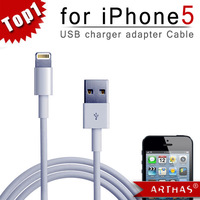 IN Stock!! For iPhone 5 Data Sync &amp; Adapter Charger USB Cable 8 Pin cable, Free Shipping