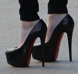 CooLcept  high heel shoes ladies Модный lady Кожа Женщины sexy heels boots platform ...