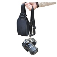 Photo Studio Accessories Black Quick Pro Single Shoulder Ergo Strap for DLSR SLR Camera