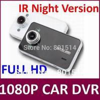 Full HD1080P K6000 Car DVR IR Night Version Video Camera Recoder HDMI motion Detection 20pcs/lot Free Shipping