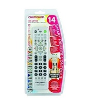 Free Shipping Chunghop RM-L816  2*AA Combinational Remote Control Learning For TV/SAT/DVD/CBL/DVB-T/AUX/AC/CD/AMP/TUNER