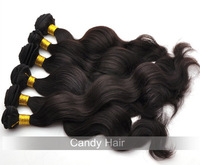 "Top quality 3pcs/lot  mix lengths 8-30"" ,Brazilian Virgin Hair Extensions,Grade 5A Body wave Natural human hair weft, FREE SHIP"