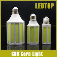CREE Chip 12W/ 20W/ 30W COB SMD LED Corn Bulb Light E27/ E14 Lamp Cool/Warm White 220V/110V 360 Degree Spot Light Free Shipping