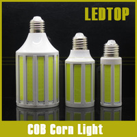 CREE Chip 12W/ 20W/ 30W COB SMD LED Corn Bulb Light E27 Lamp Cool/Warm White 220V 360 Degree Spot Light Free Shipping