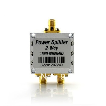 Direct Marketing sunhans 2 Way Power Splitter repeater splitter 1500-8000MHz for wifi booster repeater 10pcs/lots