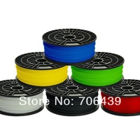ABS 1.75mm/1.8mm Filament for 3D printer 6 PIECES