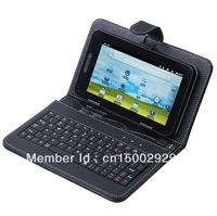 7 inch tablet keyboard case hard shell protective case fashion keyboard Russian keyboard