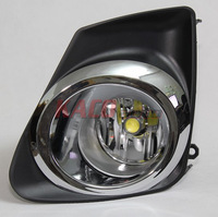LED Fog Lamps for Toyota Corolla 2011-2013 with Wire Harness+Switch+Brackets+H11 LED Bulbs 7W Free Shipping