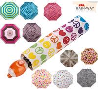 Y16 big brand Rain way gift box set uv automatic umbrellas rain 11 colour pattern princess women's umbrella