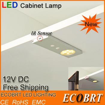 Ecobrt*free Top Fashion Rushed Shipping 2015 Items 12v 2w 5050 Ir Sensor light Lights for Led Under Cabinet / Furniture Lighting
