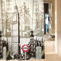 2013 Big Ben in London England Shower curtain 180X180cm 1pcs free shippping