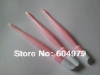 Free shipping!!! Nail Art Tool Nail Plastice Pusher 48pcs/lot Nail Cuticle Remover mix color