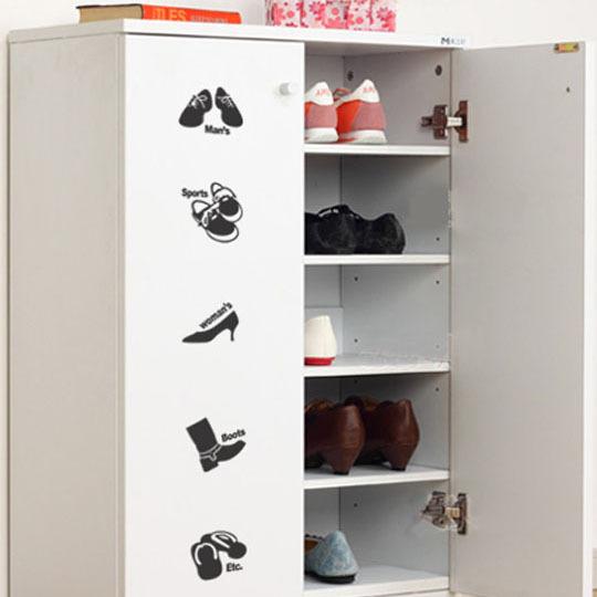 Goedkope Keuken Opbergkast : Schoen meubels muurstickers keuken kast kledingkast meubels indoor