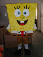 High quality of Spongebob Mascot Costume Sponge Bob Mascot Costume, Free Shipping