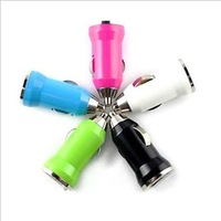 More color  Automotive bullet plug   USB car charger