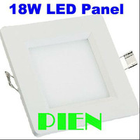 2835smd 18w led down light square modern 90 led panel lamparas recessed living room indoor 85V0265V CE&ROHS by DHL 30pcs