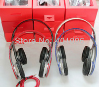 2013 new fashion portable headset high resolution sound high quality HD headphones earphone with logo&soft retail box