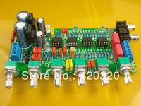 2.1 channel amplifier bass amplifier board Kit volume adjust with 4*NE5532 free shipping