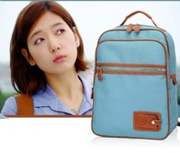 Korean Park Shin Hye same paragraph shoulders package to package the student backpack schoolbag computer bags fascinated me hit