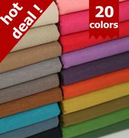 free shipping  The most loving color plain cotton linen linen 140cm 20 color selection
