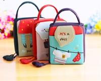 Hot-selling spring candy color block cloth cosmetic storage bag camera bag clutch bag lady handbag