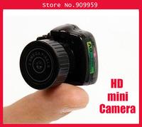 Hd mini camera y2000 small camera small camera slr shape super mini size