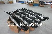 aluminium alloy original car body part for Hyundai ix35 2010+ running board (B.M.W style) side step bar free shipping FedEx